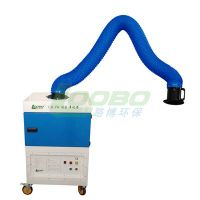 LB-JW Mobile hepa filtration welding fume extractor, laser cutting smoke exhauster, portable dust co thumbnail image