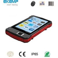Rugged Handheld POS Terminal Carrying Fingerprint Verification Module