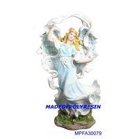 Standing fairy,polyresin angel thumbnail image