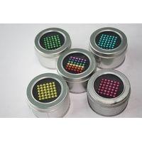 neocubes, buckyballs (rainbow) thumbnail image
