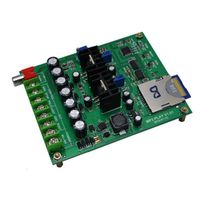 Single Button Triggered MP3 Sound Board with 2x10W Amplifier