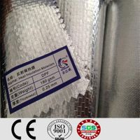 Aluminum foil roofing underlayment membrane for steel structure and wood structure