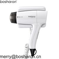 EU Plug Hair Dryer For Hotel Home Wall Mount