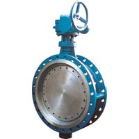 API 609 carbon steel triple offset flanged butterfly valve thumbnail image