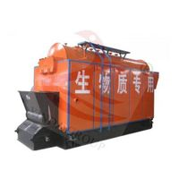 Wood/rice husk fired steam boiler for chicken house heating thumbnail image