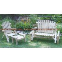 sell  wooden lounge chair thumbnail image