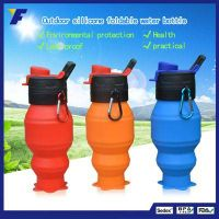 2017 New Design Infuser Water Bottle BPA Free Reusable Silicone Water Bottles