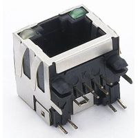 RJ45 connector with led thumbnail image