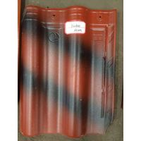 inda color glazed ceramic roof tiles