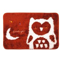 Non-slip Microfiber Bathroom Door Mat 038