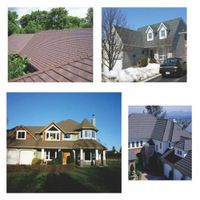 Roofing sheet for roof materials