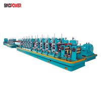 """1"""" 2"""" 3"""" steel round pipe making machine and square pipe thumbnail image"""