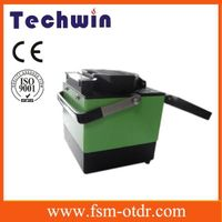 Fibre Optic Fusion Splicer Fiber Fusion Splicer Fibre Splicer TCW-605C with One Step Fiber Cleaver