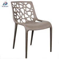 AL-862 Coffee shop restaurant stackable armless plastic chair for sale
