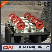 2016 hot sale 100 tph jaw crusher price gold mining equipment