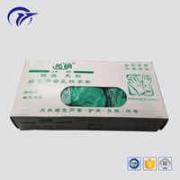 Customized printing disposable glove tissue packaging cheap paper box
