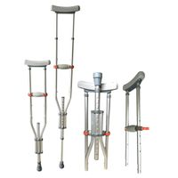 Folding & Detachable Underarm Crutch LK3010D-Three Size in One