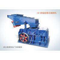 Roller crusher for coal