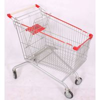 European Style Shopping Trolley 100L