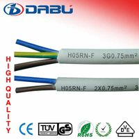 H07RN-F H05RN-F Rubber Cable 2-3 Wires 220V Electric wire