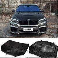 BMW F15 X5 X6 carbon hood