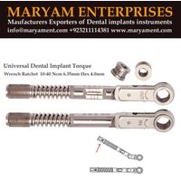 Universal Dental implant Torqu Wrench Ratchet Maryam enterprises