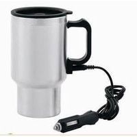 Chargeable stainless steel travel mug