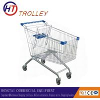 best selling supermarket shopping trolley 180l wholesale