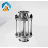 Sanitary stainless steel pipeline sight glass thumbnail image