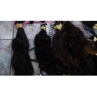 Bulk brazilian  hair extension
