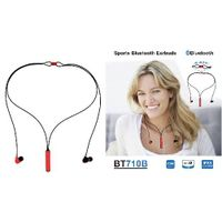 Fashionable Design Necklace Bluetooth Earphones with High Quality