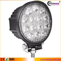 high lumen round 42w IP67 led work light