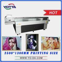 High resolution 3D ceramic tile uv flatbed inkjet printer
