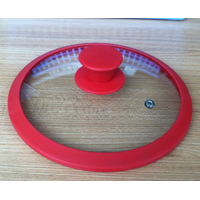 silicone glass lid with best quality SGS,TUV,