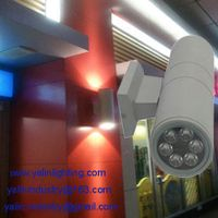 Outdoor 6W double direction LED wall lamp, garden IP65 building spot lighting