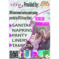 We provide and export feminine hygiene products of the VERA brand thumbnail image