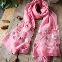 China Factory Wholesale Export 100% Silk Scarves, Wraps, Shawls thumbnail image