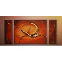 Modern Oil Paintings on canvas hademade abstract painting -set09067
