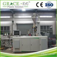 High standard 20-63mm high speed hdpe pipe extrusion machine with pipe cutting machine
