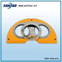 Concrete Pump Spectacle Wear Plate and Cutting Ring Suitable for Sermac thumbnail image