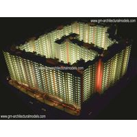 architectural model and rendering thumbnail image