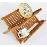 Factory Natural Bamboo Shoe Bench 2-Tier Shoe Storage Racks Shelf Organizer