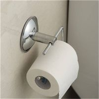 Stainless Steel Toilet Roll Papter Holder with Suction