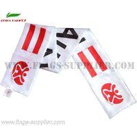 Wholesale Cheap Polyester Football Scarf Austria