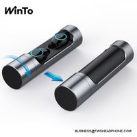 X8 True Wireless Earbuds Bluetooth 5.0 With 360 Rotate Cylinder Charging Case Best Stereo Earphones, thumbnail image