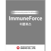 Korean Animal medicine Immune Force with Active ingredients: Nucleotide, Bacillus, Lactobacillus thumbnail image