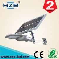 20w all in one solar street lamp light