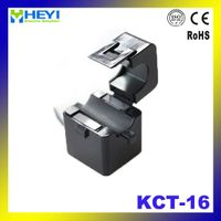 KCT-16 single phase current transformer split core ct open type 100A/25mA clamp on current transform