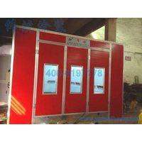 Colombia Diesel Burner Auto Spray Booths Galvanized Steel Sheet Basement