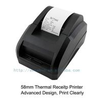 POS 58mm thermal receipt printer POS printer
